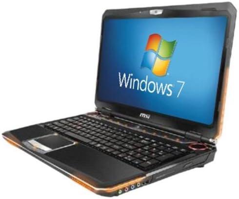 Msi Gt680 035uk 15 6 Inch Laptop Intel New 2nd Generation Core I7 Gaming 8gb Memory 500gb Hard Drive And 120gb Ssd Nvidia Fermi Graphics Hd Webcam Windows 7 Home Premium Amazon Co Uk Computers