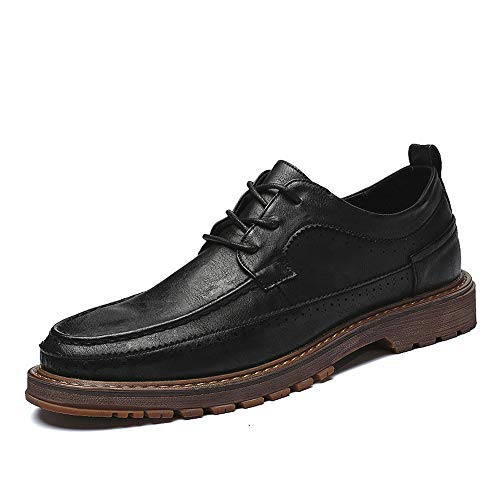 Retro Casual Oxford Nuovi Autunno Ventilate Fashion Nero Cricket Scarpe Formali Business da e Uomo New Outsole Inverno Scarpe da rIqwxvgqt