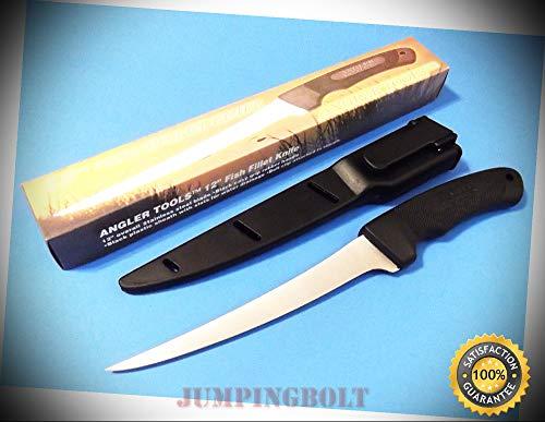 - 211340-12 FISH FILLET Knife 7'' flex blade 12'' overall CN4012 - Knife for Bushcraft EMT EDC Camping Hunting
