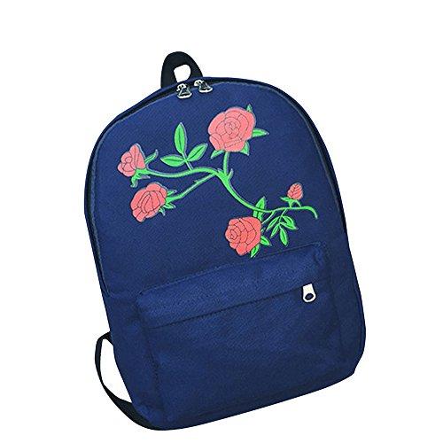 Baby Boy Girl Diaper Nappy Mother Bag Portable Handbag (Blue) - 2