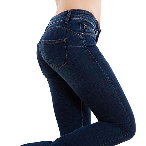 Bleu Toocool XS Bleu Jeans Femme Bleu Slim nO6IH