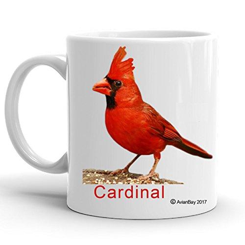 (Cardinal Bird Coffee Mug, Great Gift. (No)