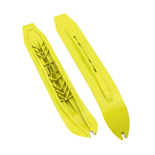 (Ski-Doo New OEM Pilot DS-3 Manta Green Ski, 505073539, 505073354)
