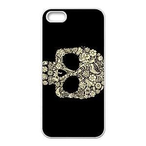 Custom Skull Back Cover Case for iphone5,5S