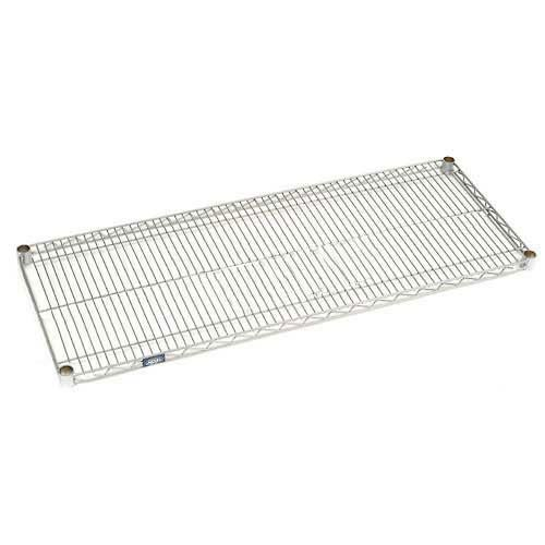 Nexel S2430EP Nexelate Wire Shelf 30''W x 24''D with Clips by Nexel