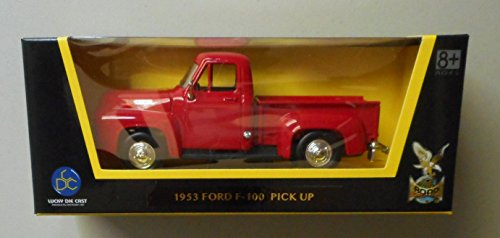 1953 Ford F-100 Pickup Truck 1:43 Scale Red