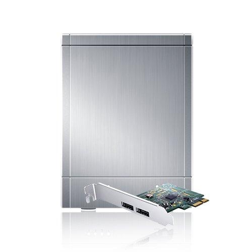 Amazon Lightning Deal 60% claimed: Sans Digital TR4UTPlus Towerraid 4 Bay Usb 3.0/Esata Hardware Raid 5 Tower with 6G PCie 2.0 Hba (Silver)
