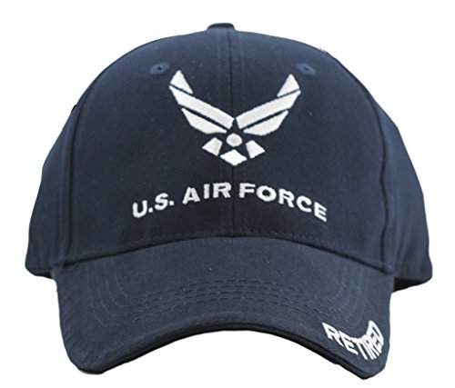 US Air Force Retired Cap for Men and Women United States Air Force Military Hat