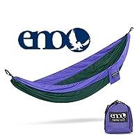 ENO - Hamaca SingleNest de Eagles Nest Outfitters, hamaca portátil para uno, púrpura /bosque