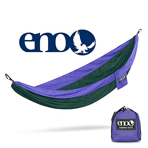 eno – Eagles Nest Outfitters SingleNest Hammock, Portable Hammock for One, Purple Forest