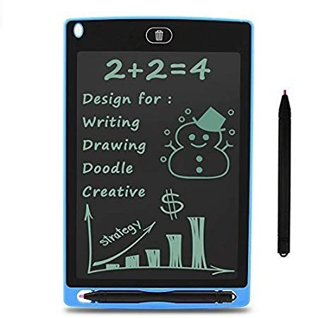 """Buddymate 15R 8.5"""" E-Writer LCD Writing Pad Paperless Memo Digital Tablet/Notepad/Stylus Drawing for Erase Button & Pen to Write (Random Colour) Tablets at amazon"""