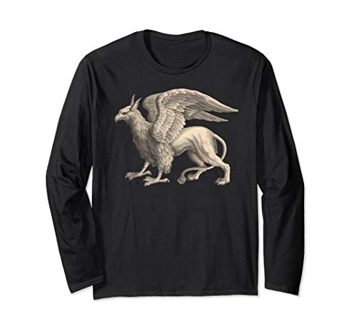 - GRIFFIN T-shirt Eagle Lion Medieval Bird Mythical Creature
