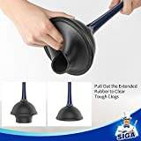 MR.SIGA Toilet Plunger and Bowl Brush Combo for