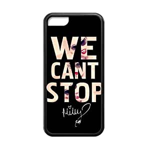 Collectibles Miley Cyrus Apple Iphone 5C Case Cover TPU Laser Technology We Can Not Stop Quotes