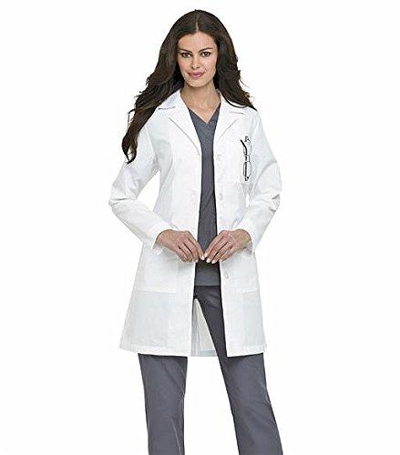 Women's Labcoat (White-Antimicro - Melbourne Online Shop