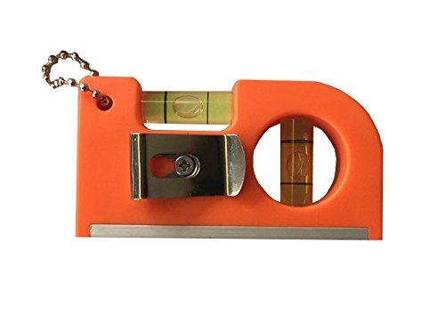 Stark Magnetisch Mini Taschen Wasserwaage Pocket Gr/ö/ße 8,5 cm x 4,5 cm