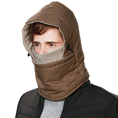 SIGGI Neck Gaiters Warmer Balaclava Face Mask Motorcycle Cycling Ski Tactical Hood Warm Winter Men Unisex Waterproof ()
