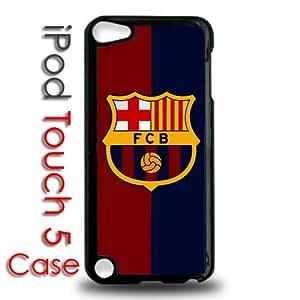 IPod 5 Touch Black Plastic Case - Barcelona Futbol Club Futsal Messi FCB