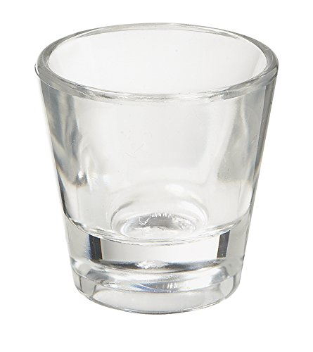 G.E.T. Enterprises SW-1425-1-CL-EC 1 oz. Shot Glasses, Break Resistant Plastic, Dishwasher Safe, Shatter Resistant, GET, Small, Clear (Pack of 4)]()
