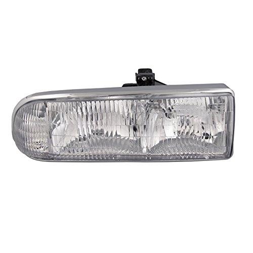HEADLIGHTSDEPOT Compatible with Chevy/GMC S-10 Pickup/S10 Blazer Headlight Headlamp Passenger Side New Blazer Passenger Side Headlight