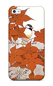 For Iphone 5c Hard Phone Case Cover(animal Artistic Abstract Artistic)