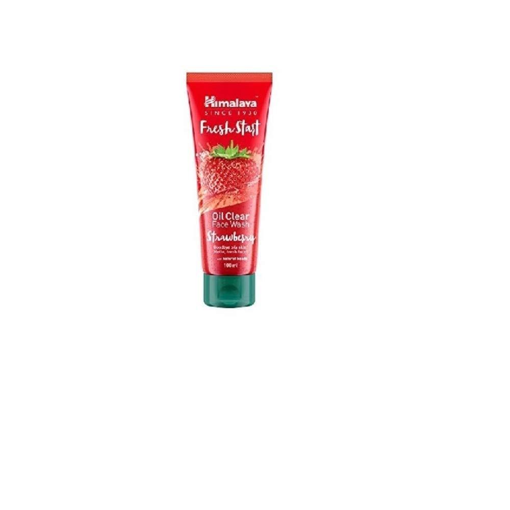 Himalaya Fresh Start Oil Clear Face Wash, Strawberry, 50ml