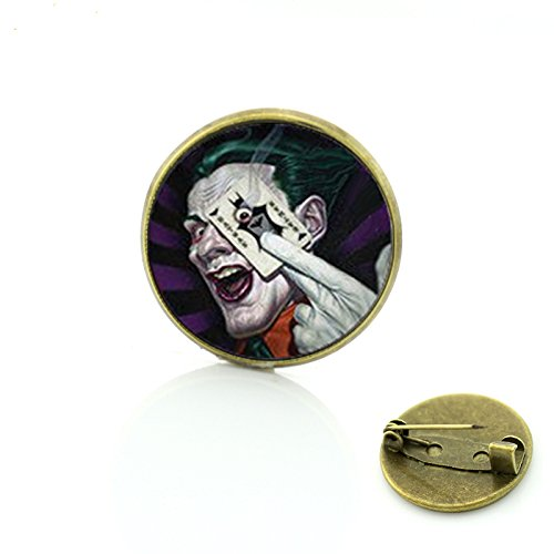 Patch Nation Joker Cosplay badge à épingle en métal