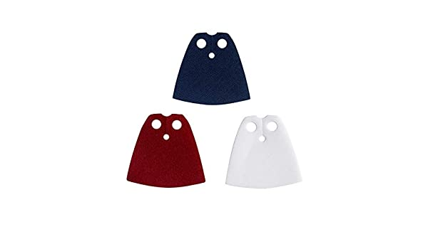 starched Red LEGO® Accessories: 3 Cape Lot Dark Blue and White  …
