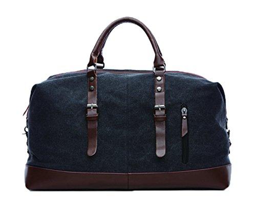 Duffel Leather Shoulder handbag Weekender