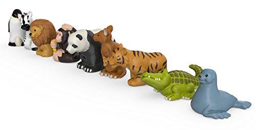 41bkjsjLGGL - Fisher-Price Little People Zoo Animal Friends