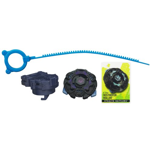 Beyblade Extreme Top System Stealth Battlers X-206 Destroyer Roller Top