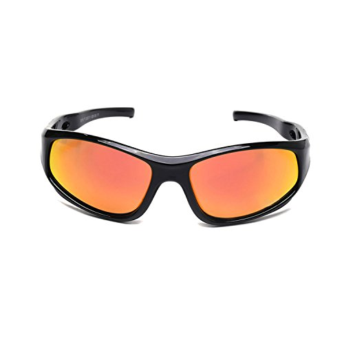 08273dd6120 AODUOKE Sports Polarized Kids Sunglasses For Boys Girls Children Mirrored  Lens Sunglasses With Strap