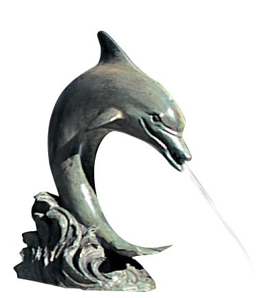 Small Single Dolphin Fountain