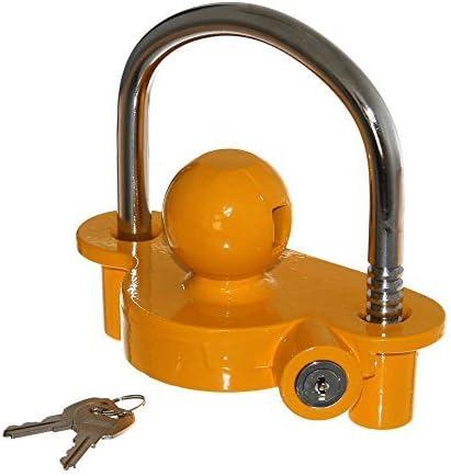 1 candado para bicicleta Cofre Amarillo Portafusibles con bola de ...