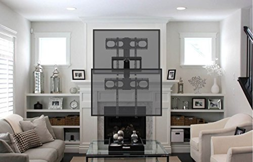 MantelMount MM340 Pull Down Fireplace TV Mount For 44''-80'' TVs Above Mantel by MantelMount (Image #2)