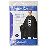 Betty Dain Barber Pole Cutting / Styling Cape, Royal Blue