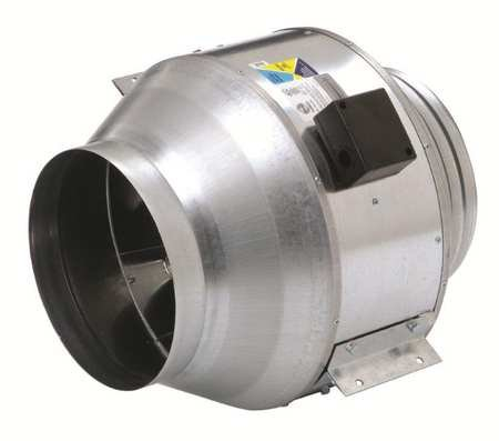 Inline Centrifugal Duct Fan 8 Inch Dia. by Fantech