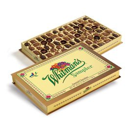 Whitman's Jumbo Sampler Assorted Chocolates Box, 40 Ounce from Russell Stover Candies