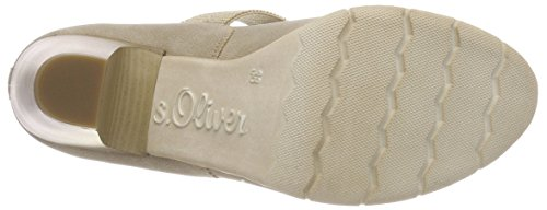 s.Oliver Damen 24407 Pumps braun (pepper comb.)