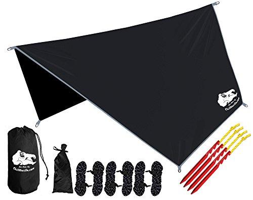 Chill Gorilla Hex Hammock Rain Fly Tent Tarp Waterproof Camping