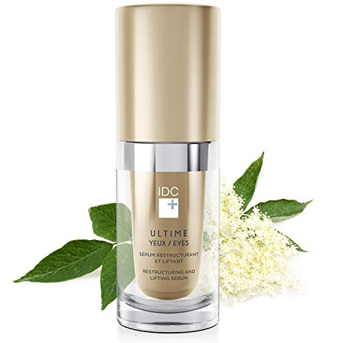 Moisturizing Lifting Eye Cream Serum ULTIME Anti-Aging Eyes Restructuring by IDC DERMO (Best Eye Cream For Droopy Upper Eyelids)