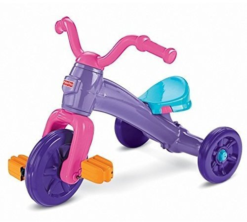 Fisher-Price Grow-With-Me Trike Plastic Tricycle
