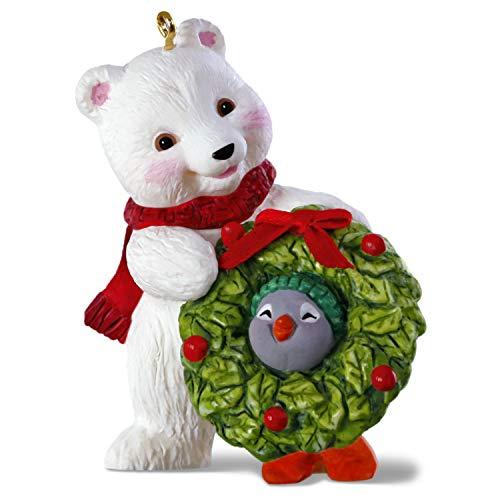 - Hallmark Keepsake Christmas 2019 Year Dated, Snowball and Tuxedo Decking The Halls Polar Bear and Penguin Ornament