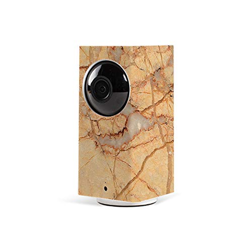 MightySkins Skin for Wyze Cam Pan - Amber Marble | Protective, Durable, and Unique Vinyl Decal wrap Cover | Easy to Apply, Remove, and Change Styles | Made in The USA ()