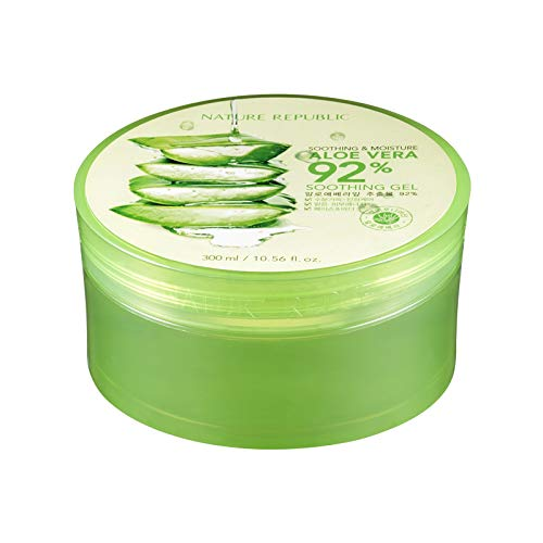 3. Nature Republic – Soothing & Moisture 92% Aloe Vera Gel