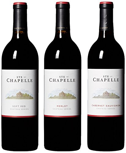 Ste Chapelle Chateau Series Reds Mixed Pack, 3 x 750 mL