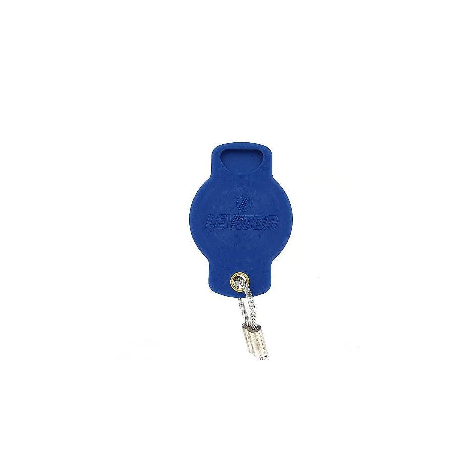 Leviton 16P22 B 16 Series Female, Protective Cap, Commercial Grade, Cam Type Connector, Blue