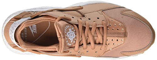 NIKE Wmns Scarpe Ginnastica Dusted Run Air Donna Beige Huarache Yellow da Gum Clay White CrrIwq