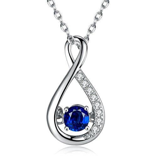 Blue Sapphires Necklaces: Amazon.com