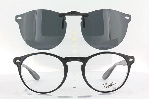 4f6e09cb4b RAY-BAN RB5283-49X21 POLARIZED CLIP-ON SUNGLASSES (Frame NOT Included)   Amazon.ca  Shoes   Handbags